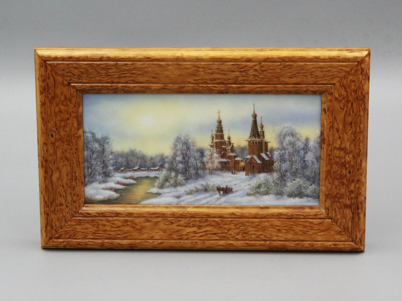 """Настольная плакетка """"Храм"""""""