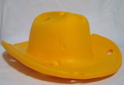 Wisconsin Cheese Head Cowboy Hat