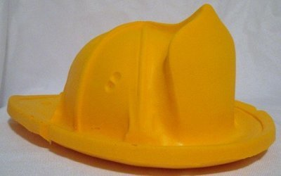 Wisconsin Cheese Head Fireman Hat