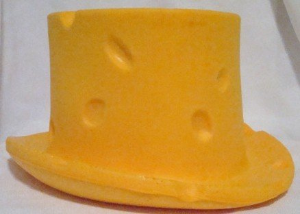 Wisconsin Cheese Head Top Hat