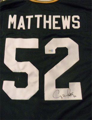 Matthews #52 Autographed Jersey