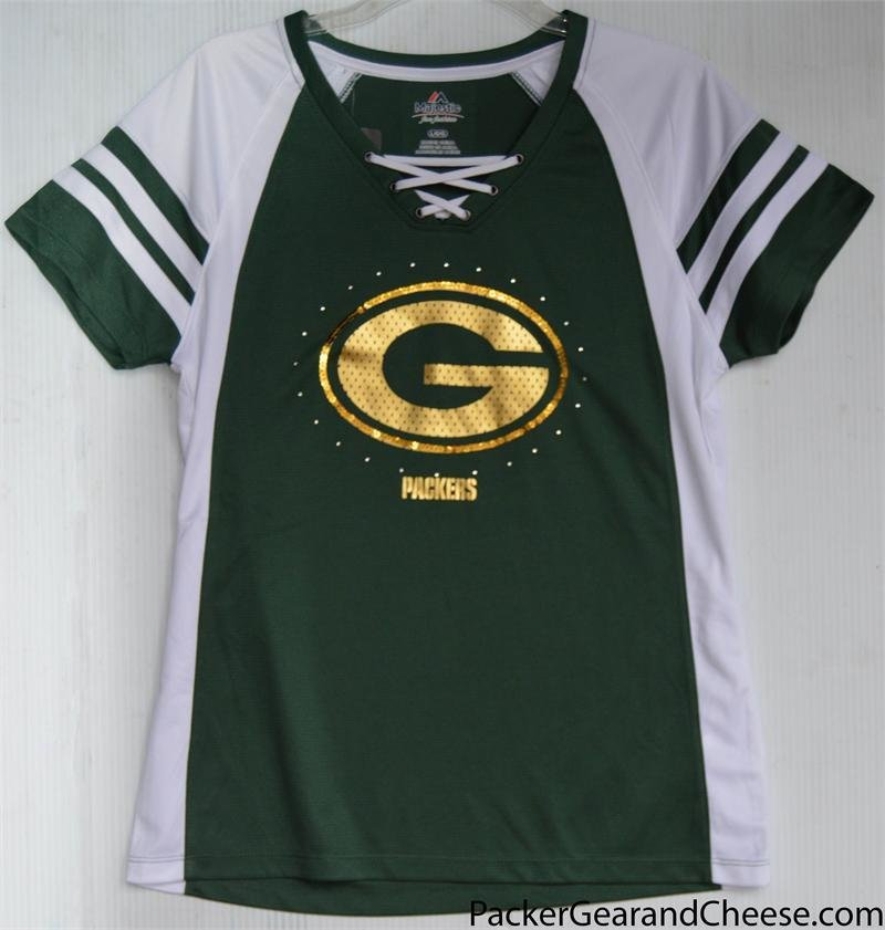 Ladies' Green Bay Packer Jersey