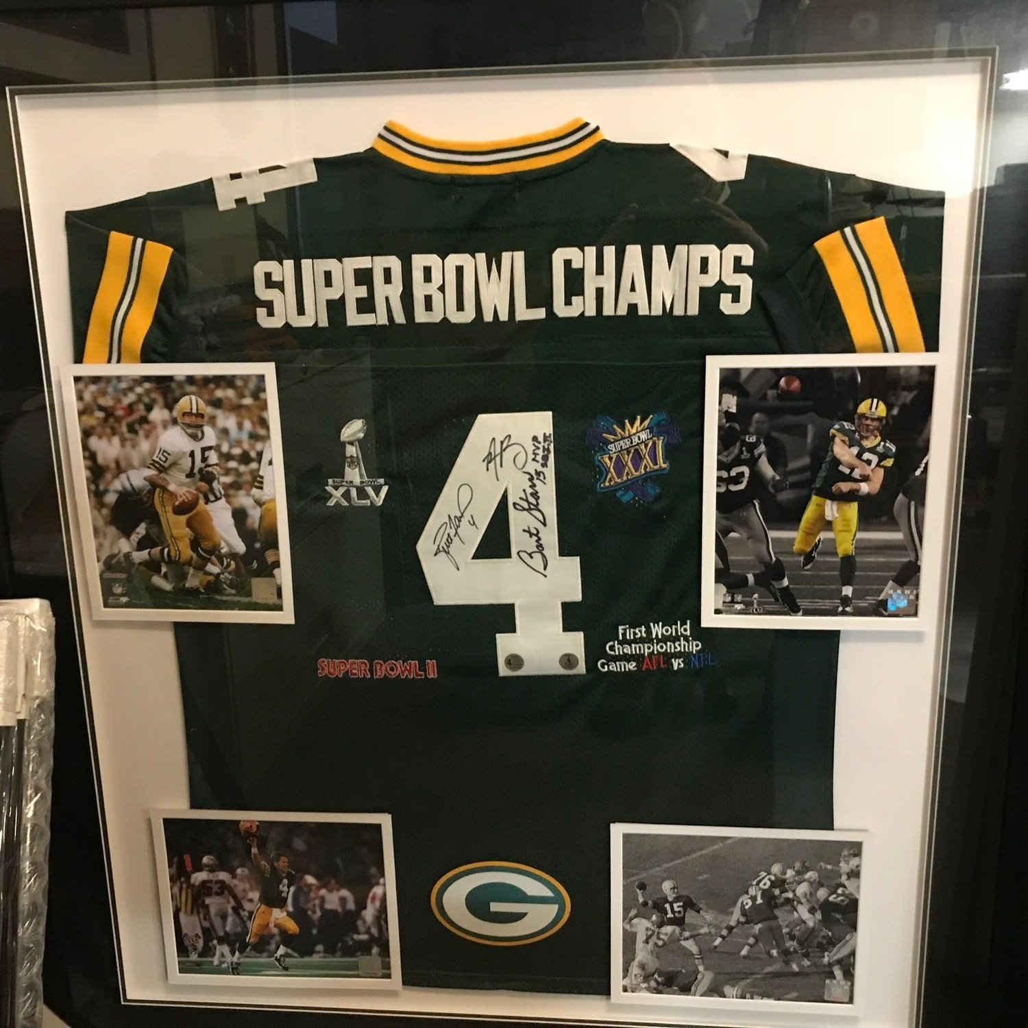 Autographed Packers Super Bowl Champs Jersey