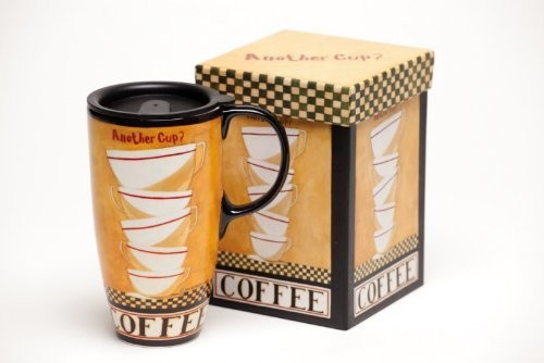 Another Cup? Ceramic Travel Mug