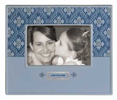 """Love You, Mom"" Ceramic Picture Frame"