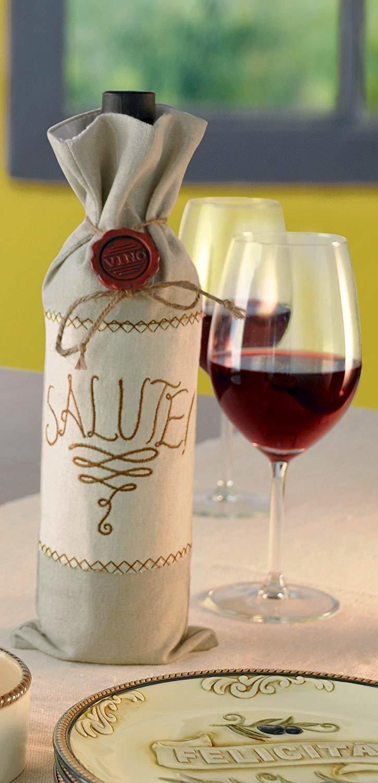 """Salute"" Wine Bag"
