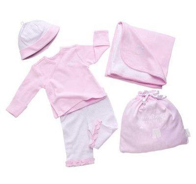Elegant Baby Newborn Essentials Take Me Home Set - Pink