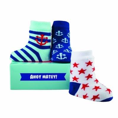 Ahoy Matey! Set of 3 Socks