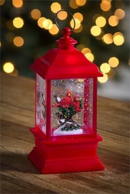 Red Cardinal Lantern