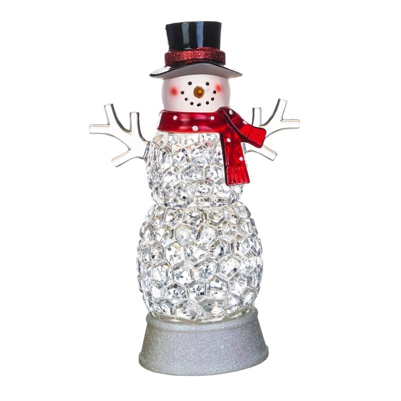 Color Changing Acrylic Snowman