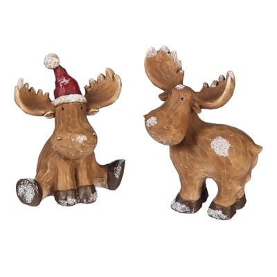 Reindeer Tabletop Décor, Set of 2 Assorted