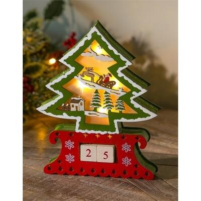 Christmas Countdown Tree
