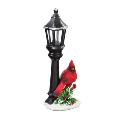 Cardinal & Street Lamp Table Decor