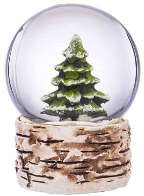 Miniature Pine Tree Water Globe