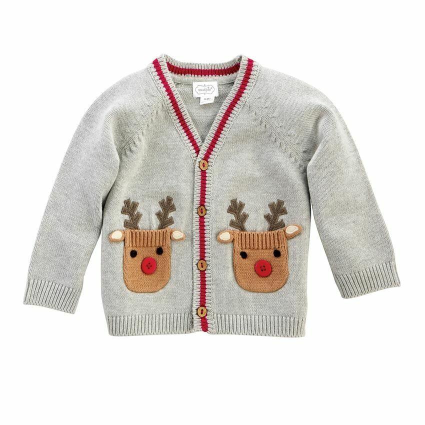 Baby Reindeer Cardigan