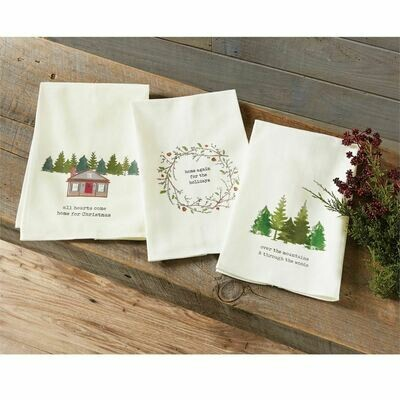 Woodland Home Kitchen Towels