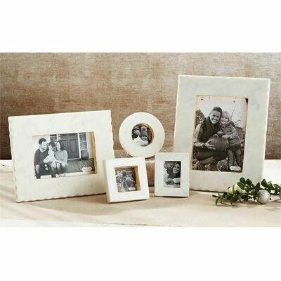 White Marble Picture Frames