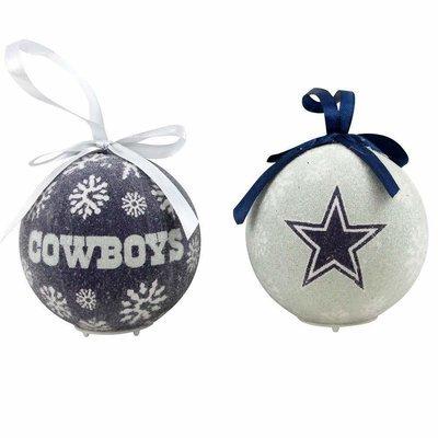 Dallas Cowboys Christmas Ornaments, Set of 6