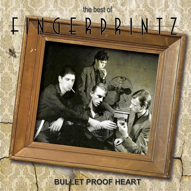 Fingerprintz / The Best Of: Bullet Proof Heart CD (79-81)