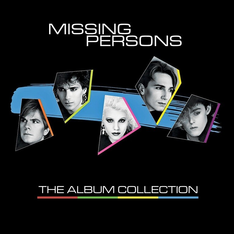 Missing Persons / The Album Collection 3 CD's + Box