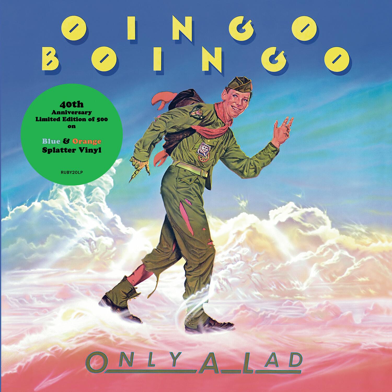 Oingo Boingo / Only A Lad LP: Blue & Orange splatter vinyl