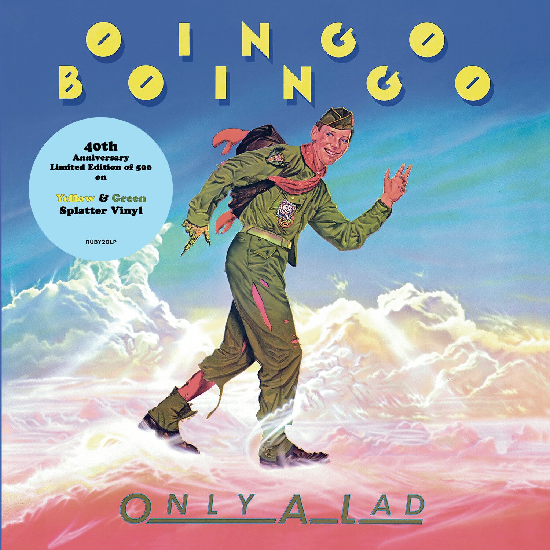 Oingo Boingo / Only A Lad LP: Yellow & Green splatter vinyl