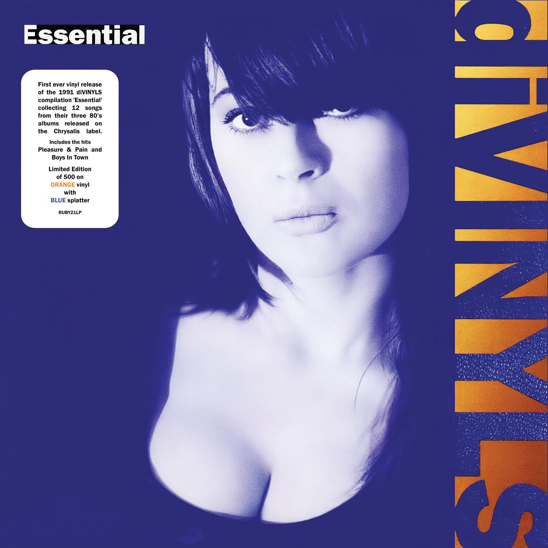 Divinyls / Essential LP: Orange with Blue splatter vinyl