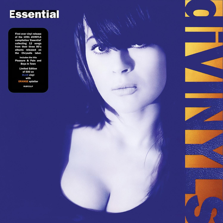 Divinyls / Essential LP: Blue with Orange splatter vinyl