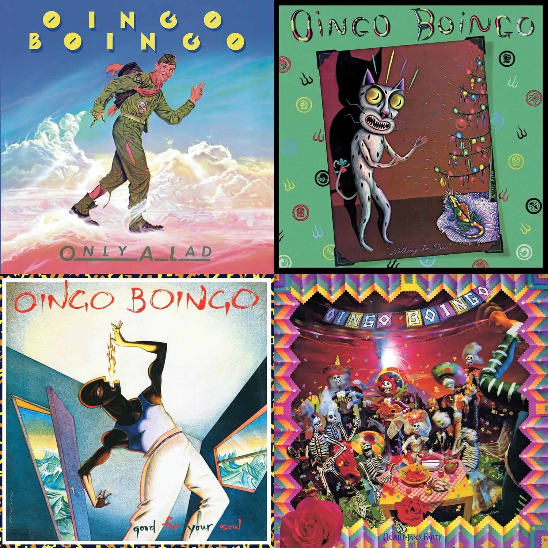 Oingo Boingo - 4CD Bundle