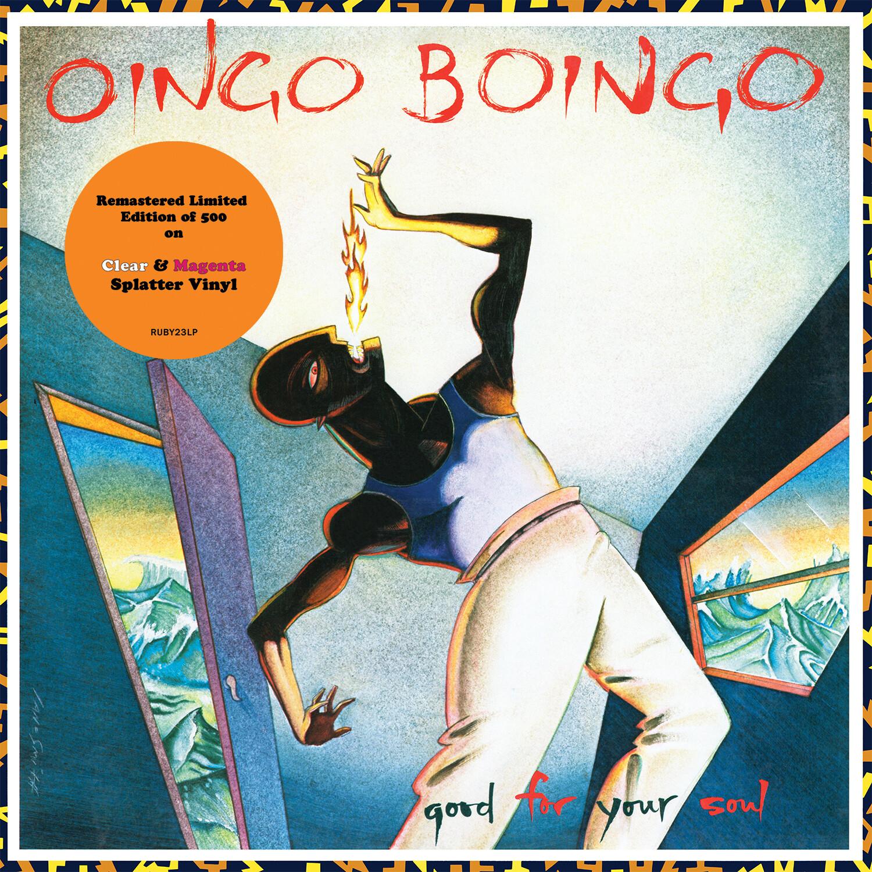 PRE-ORDER Oingo Boingo / Good For Your Soul LP: Clear & Magenta splatter RELEASE DATE OCTOBER 1