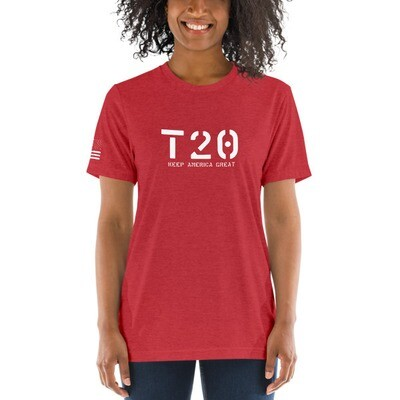T20 Keep America Great Unisex T-Shirt - Vintage Red