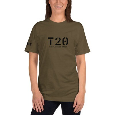 T20 Keep America Great Unisex T-Shirt - Olive