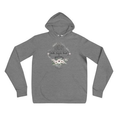 """""""Sundays Are Made For"""" Unisex hoodie"""