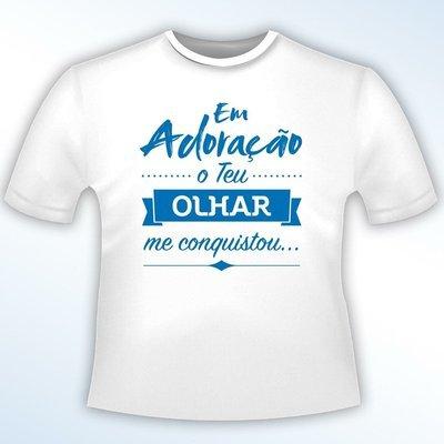 Camiseta EM ADORAÇÃO