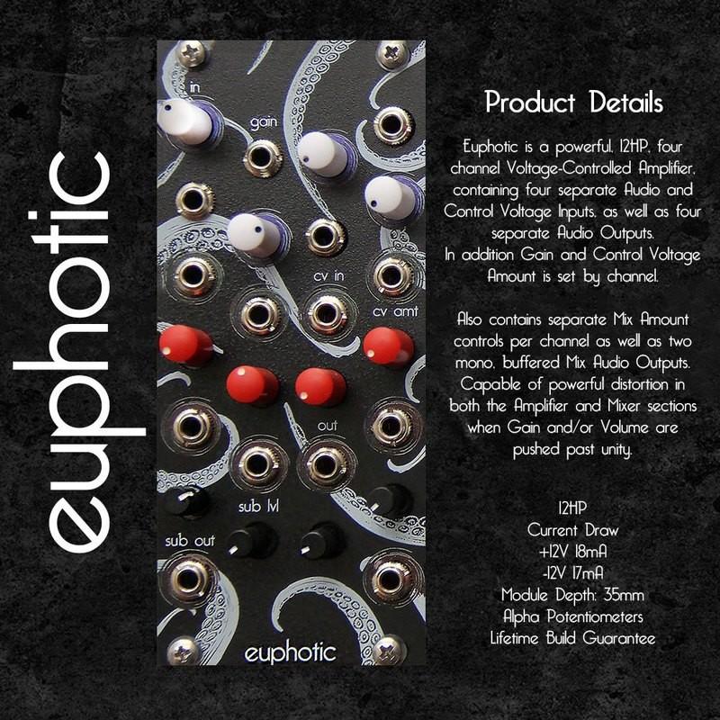 euphotic quad VCA and Mixer