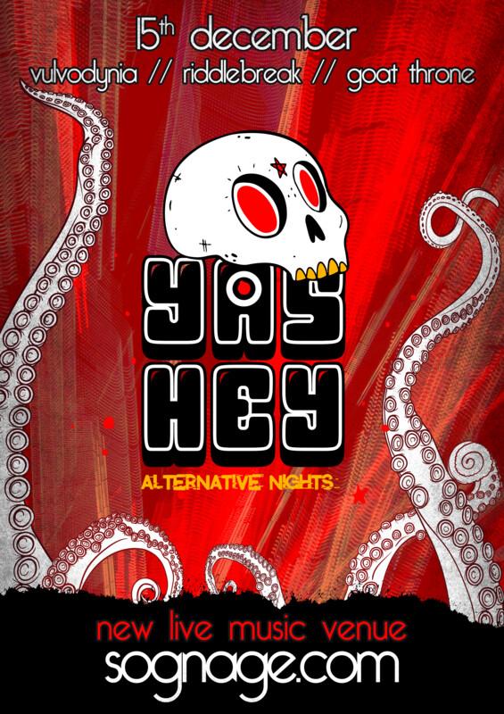 Yas Hey featuring Vulvodynia Tickets
