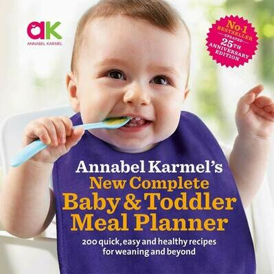 Annabel Karmel's New Complete Baby& Toddler Meal Planner