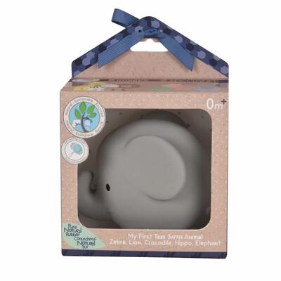 Tikiri - Safari - Rubber Elephant Toy