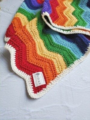 Grace Blanket - Rainbow (Cot Size)