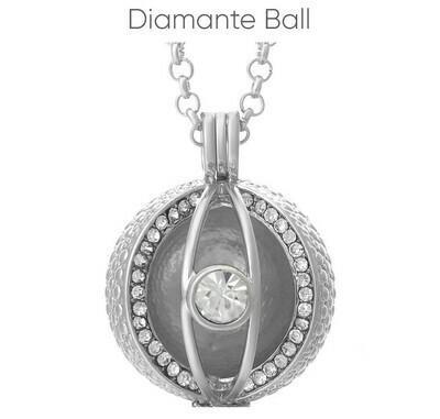 Mexican Bola's - Pregnancy Chimes - Diamante Ball
