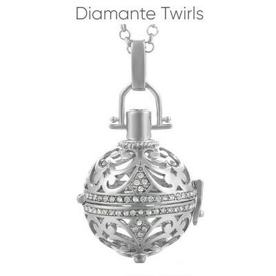 Mexican Bola's - Pregnancy Chimes -     Diamante Twirls