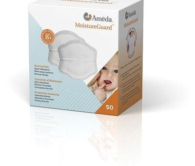 AMEDA - Moisture Guard Disposable Breast Pads 50pc
