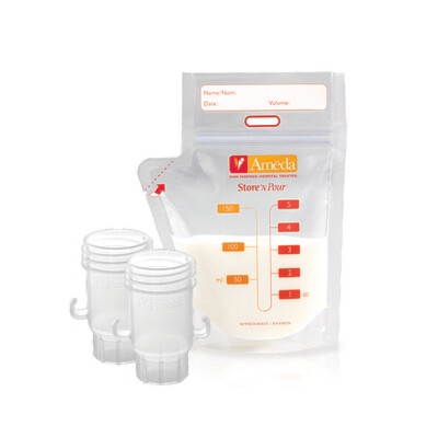 AMEDA - Store 'n Pour Breast milk Storage bags