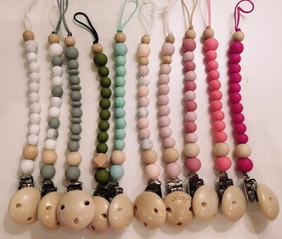 Antbear Classic Silicone Dummy Chains