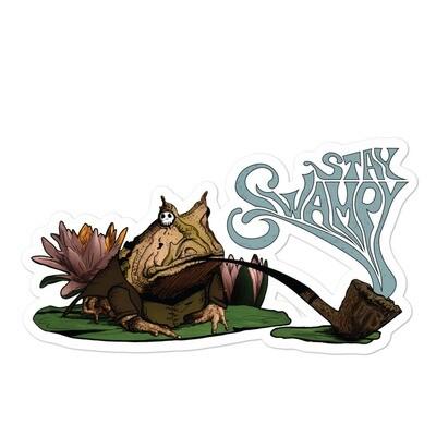 Stay Swampy Sticker