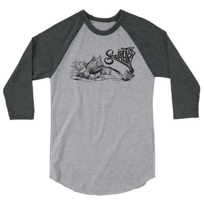 Stay Swampy Baseball T-shirt