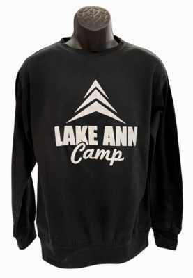 Logo Crewneck Sweatshirt- Black