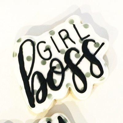 Girl Boss Cookies