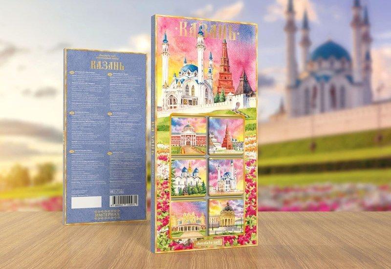 Шоколадный набор «Казань»