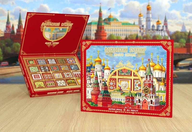 Шоколадный набор «Московский сувенир»